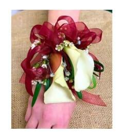 Premium Mini Calla Lily Wristlet