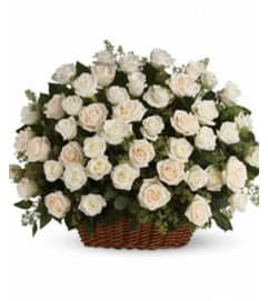 Bountiful Rose Array Basket