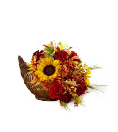 FTD's Fall Harvest™ Cornucopia Arrangement