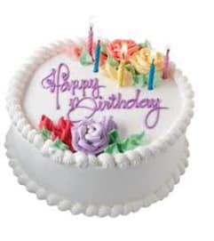 Tradional Birthday Cake *** LOCAL DELIVERY ONLY***