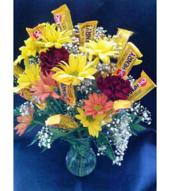 Flowering Candies Arrangement