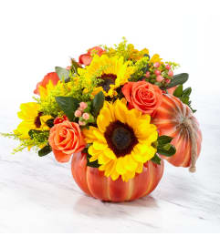 Bountiful Bouquet Pumpkin 18