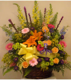 Autumn Gathering Basket