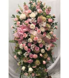 Mother's Pastel Garden Standing Spray
