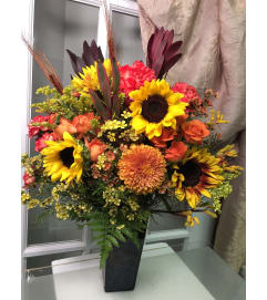 Autumn Sunset Bouquet