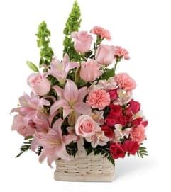 Pink Memory Basket