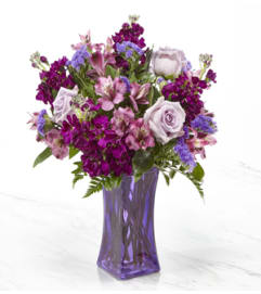 The Pretty in Purple Bouquet