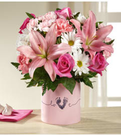 The Tiny Baby Girl Bouquet