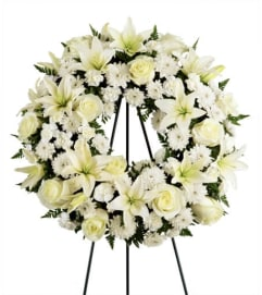 Angelic Tribute Wreath