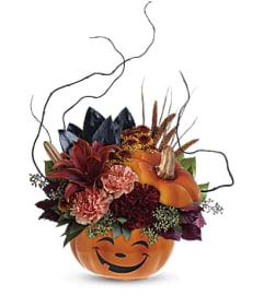 Smiling Halloween Pumpkin