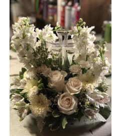 Peaceful Cross Bouquet