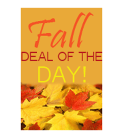 FALL Deal of the Day