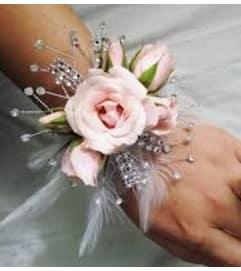 Tickle Her Fancy Wrist Corsage
