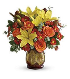 Gold  Leaves Bouquet