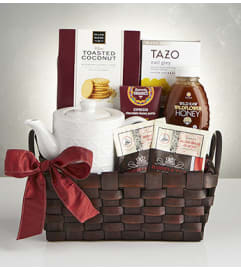 Winter Warmer Holiday Tea Basket