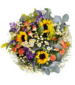 Hand-tied Autumn Bouquet