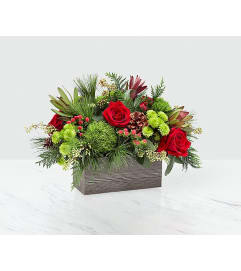 FTD Christmas Cabin Bouquet