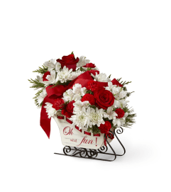 TCG FTD Holiday Traditions Bouquet