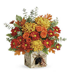 Wild Autumn Arrangement