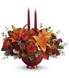 TCG Teleflora's Autumn In Bloom Bouquet