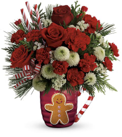 TCG Teleflora's Send a Hug Winter Sips