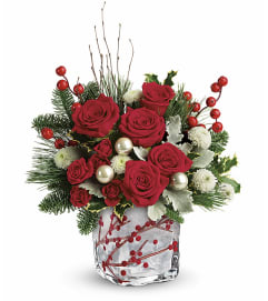 TCG Teleflora's Winterberry Kisses