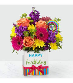 Bright Birthday Bouquet