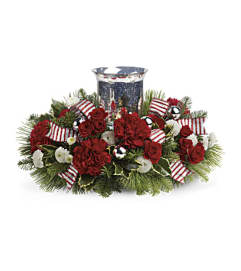 Holly Jolly Centerpiece TWR10-3