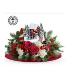 Christmas Thomas Kinkade Snowfall Dreams