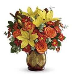 Teleflora Citrus Harvest Bouquet