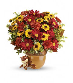 Send a Hug™ Squirrel Away Bouquet 12