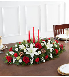 Christmas  Traditional Centerpiece