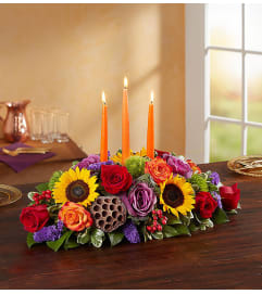 Garden of Grandeur for Thanksgiving Centerpiece