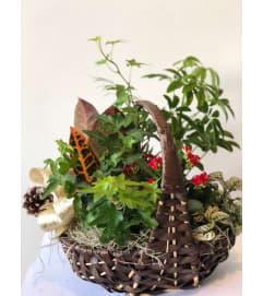 Serene Garden Basket