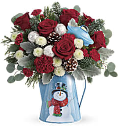 Snowy Daydreams Bouquet T18X305