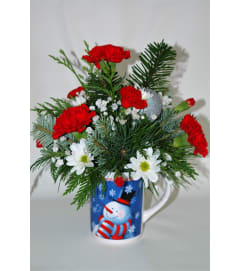 Flowering Christmas Mug