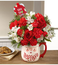 Believe Mug Bouquet