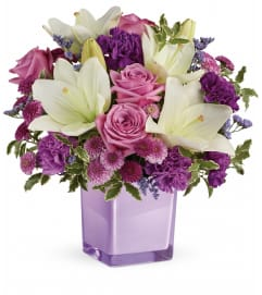 Pleasingly Purple Bouquet