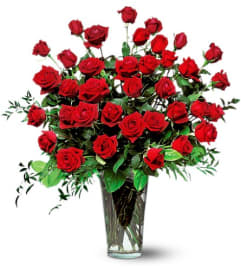 Three Dozen Beautiful Red Roses