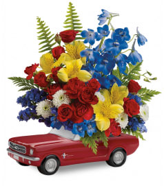 Teleflora's Ford Mustang