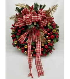 Ornament Wreath SILK