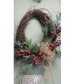 Artificial Rustic Wreath