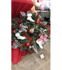 Winter Wonderland Skaters Wreath