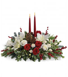 Merry Christmas Wishes Centerpiece