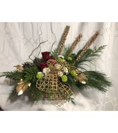 Contemporary Christmas Arrangement