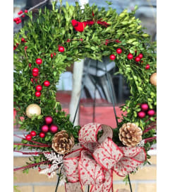 Holiday Bright Wreath