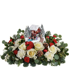 TF Thomas Kinkade's Christmas Bridge Bouquet