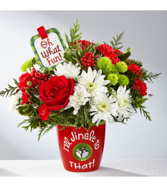 I'll Jingle to That Bouquet by Hallmark FTD