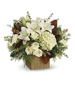 Snowy Wood Bouquet