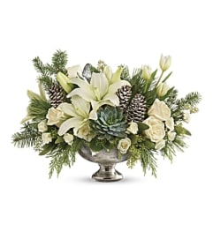 A Winter Wilds Centerpiece